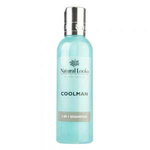 COOLMAN 2 IN 1 SHAMPOO 200ML