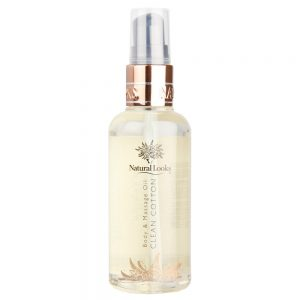 CLEAN COTTON BODY & MASSAGE OIL 100ML