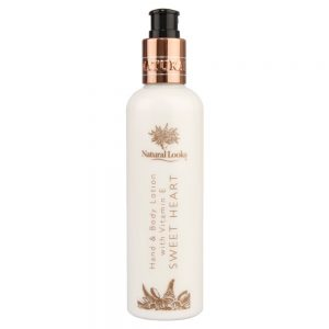 SWEET HEART HAND & BODY LOTION WITH VITAMIN E 250ML