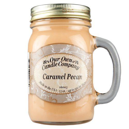 Caramel Pecan Mason