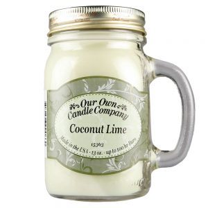 Coconut Lime Mason