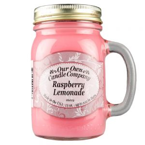 Raspberry Lemonade Mason